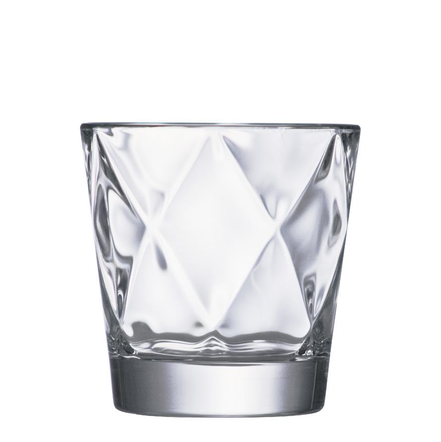 Copo de Whisky de Vidro Concerto 305ml 6pcs