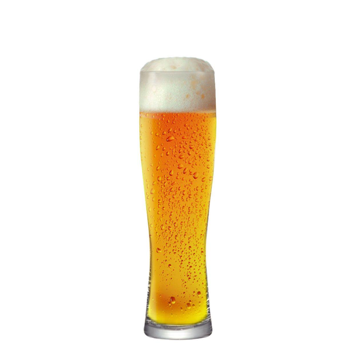 Copo para Cerveja Monaco Slim 380ml Vidro