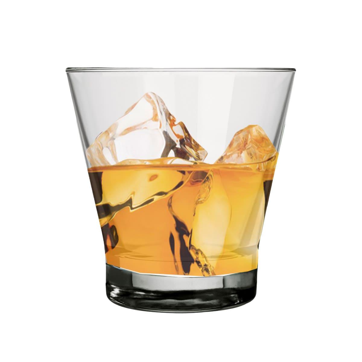 Copo para Whisky Doble Conic Rocks 350ml