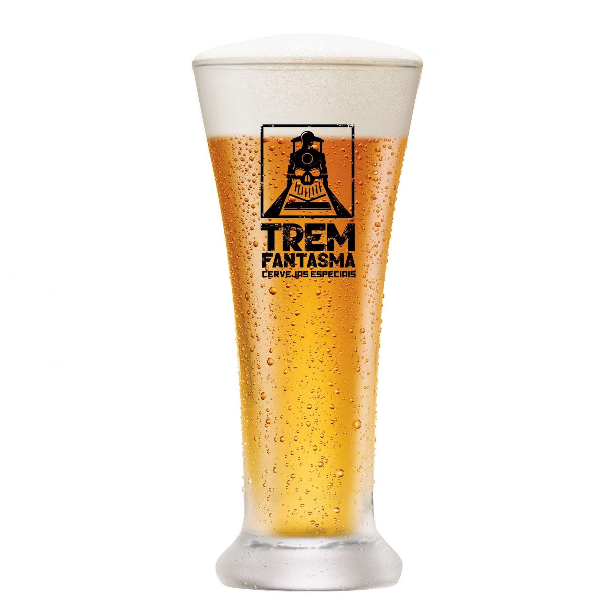 Copo Cerveja Pilsen - Trem Fantasma 275ml