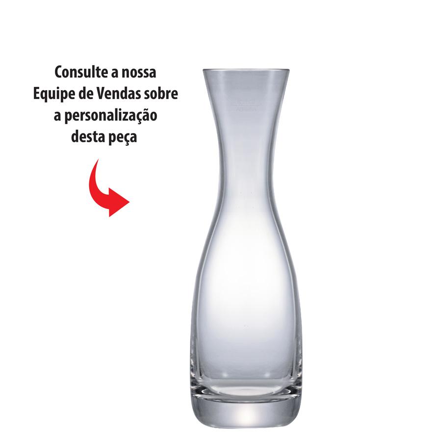 Garrafa de Vidro Decanter Vinho ou Água Mouthbl 0.3  345ml
