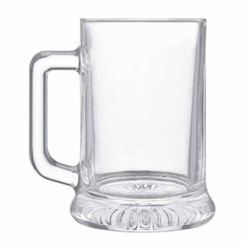 Caneca de Chopp de Vidro Cerveja Star 695ml 6 Pcs