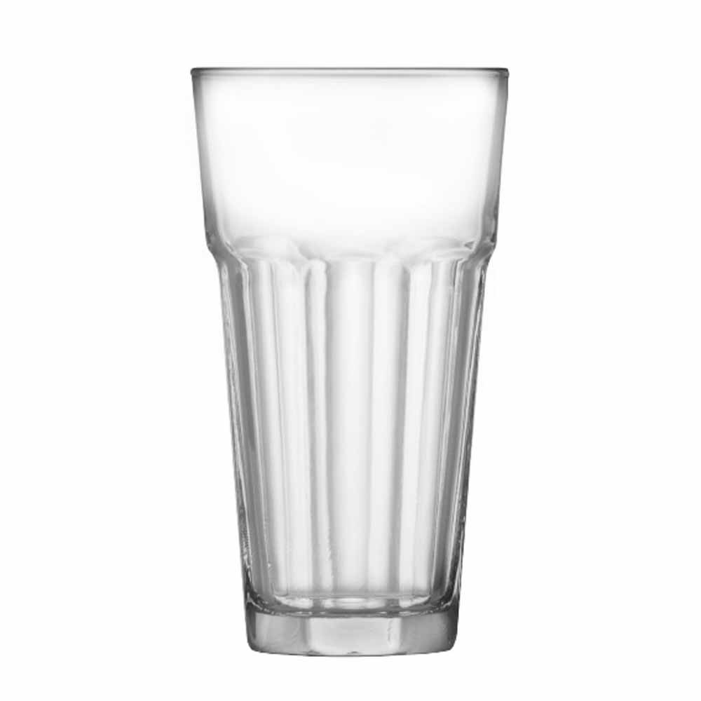 Jogo Copos Água Suco Conic Max Vidro 380ml 12 Pcs