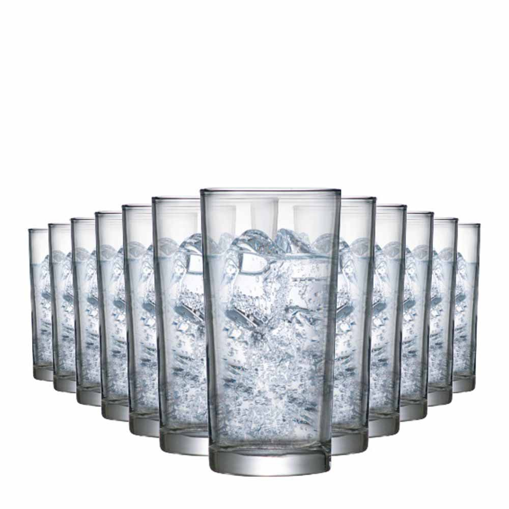 Jogo Copos Água Suco Prestige M Vidro 300ml 12 Pcs
