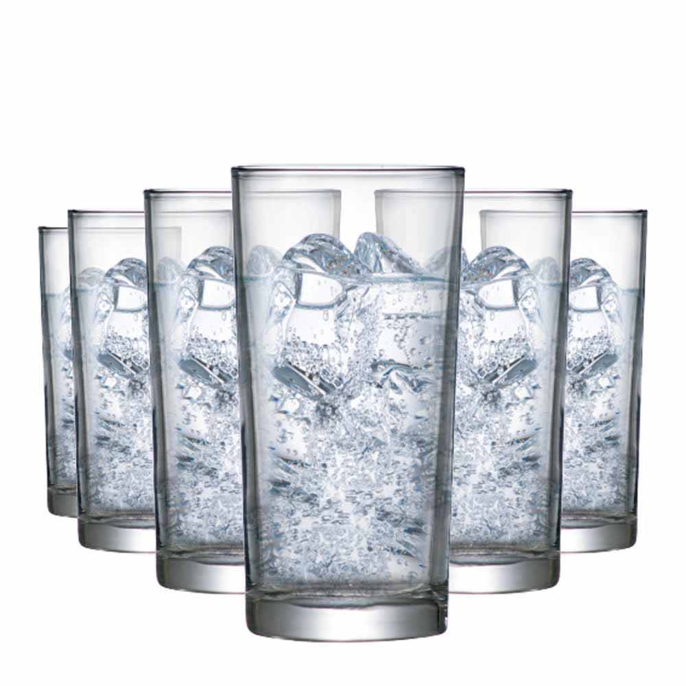 Jogo Copos Água Suco Prestige M Vidro 300ml 6 Pcs