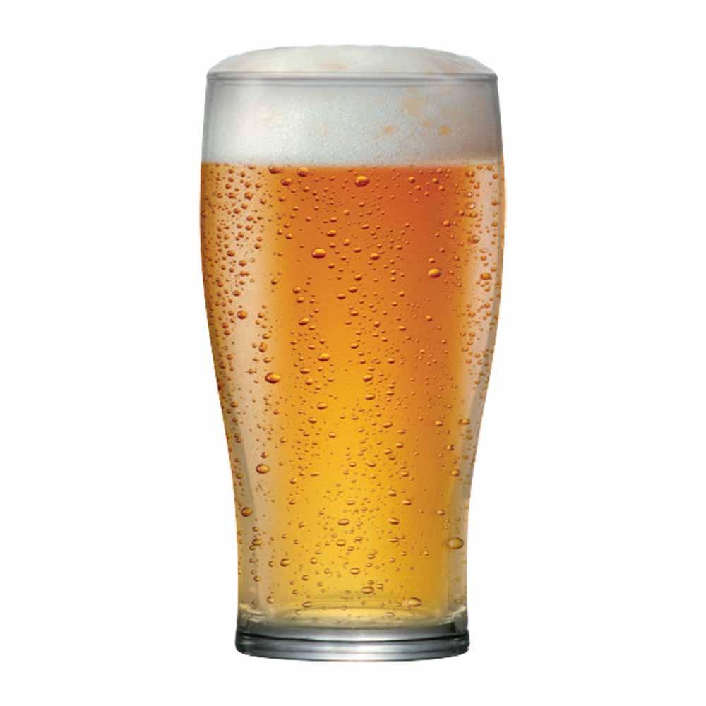 Copo de Cerveja de Vidro American Pint 500ml 12 Pcs
