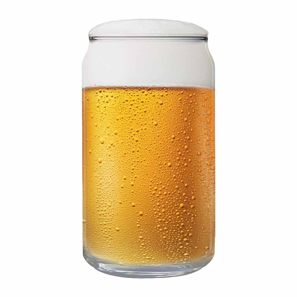 Copo de Cerveja de Vidro Can 473ml 12 Pcs