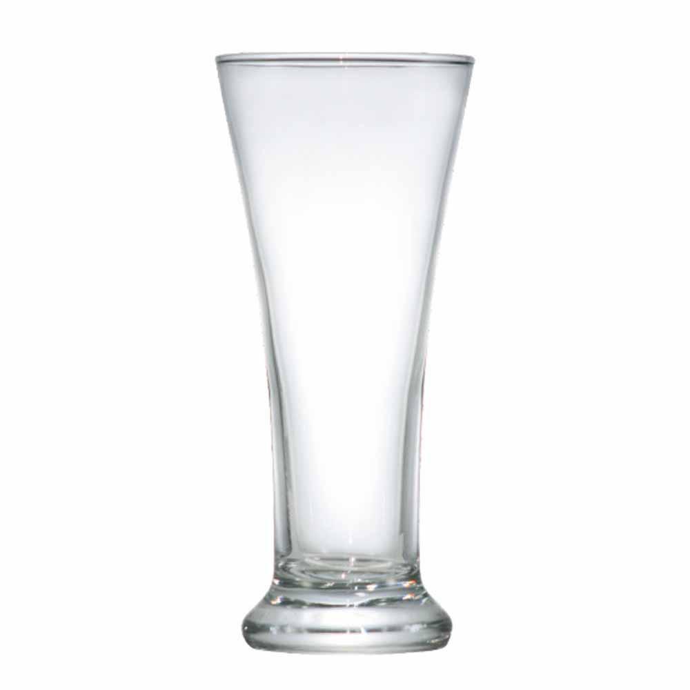 Copo de Cerveja de Vidro Pilsen 275ml 12 Pcs
