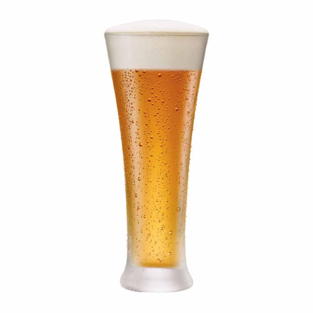 Copo de Cerveja de Cristal Pilsner 400ml 6 Pcs