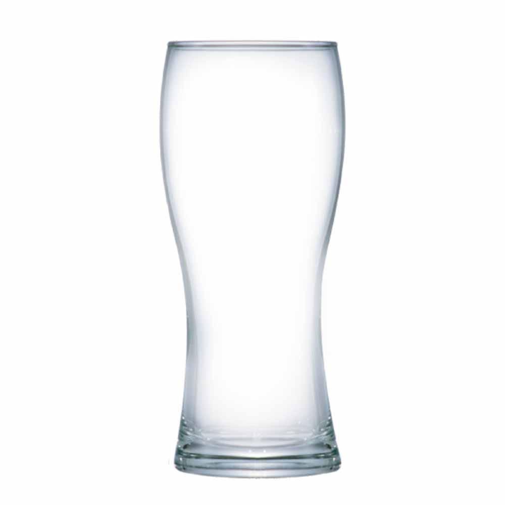 Copo de Cerveja de Vidro Praga 670ml 12 Pcs