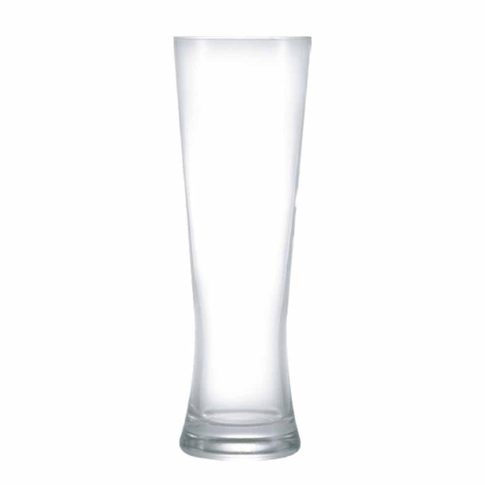 Copo de Cerveja de Vidro Weiss Polite M 430ml 6 Pcs