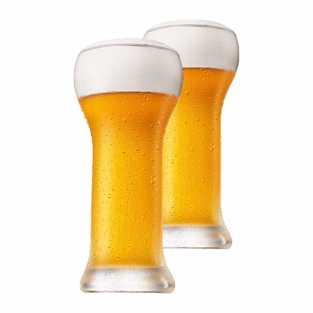Copo de Cerveja de Cristal Wheatbeer 480ml 2 Pcs