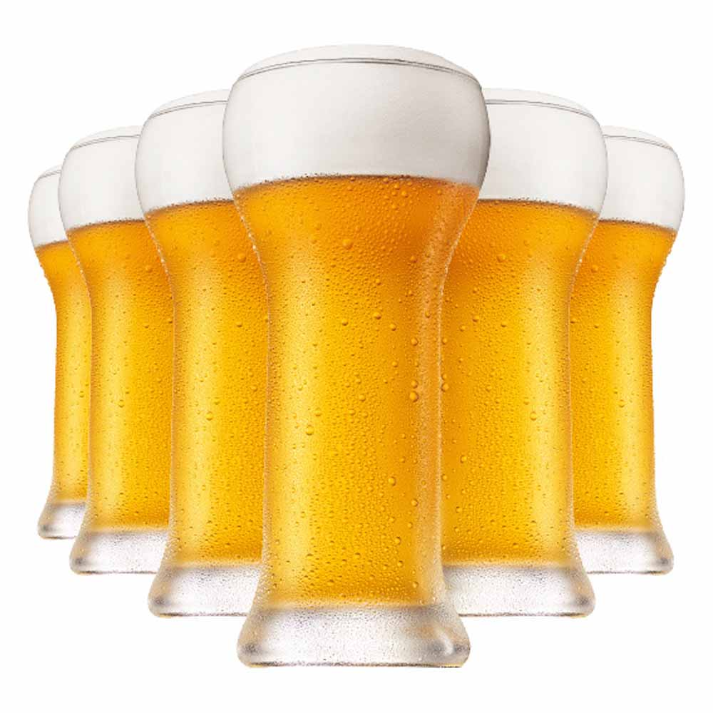 Copo de Cerveja de Cristal Wheatbeer 480ml 6 Pcs