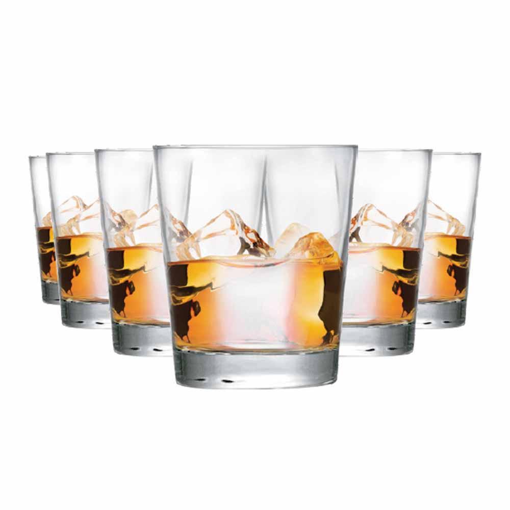 Copo de Whisky Event On The Rocks Vidro 320ml 6 Pcs