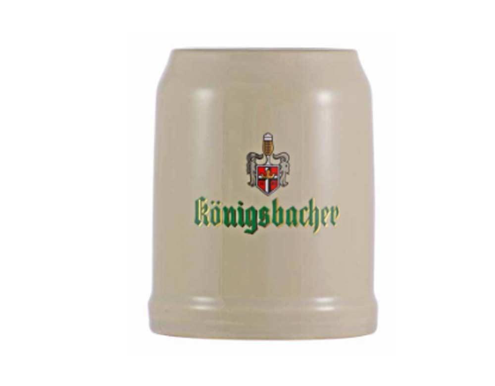 Jogo de Canecas de Chopp Ceramic Konigsbacher Ceramica 560ml