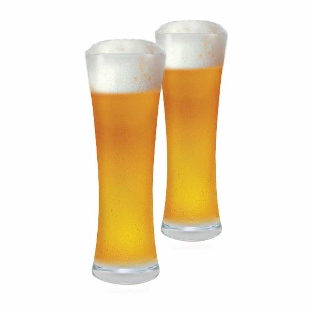 Jogo de Copos de Cerveja Blanc M Cristal 390ml 2 Pcs