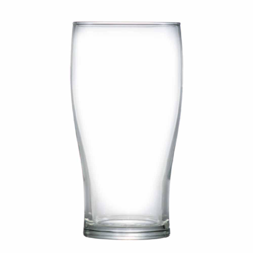 Copo de Cerveja de Vidro Half Pint 295ml 12 Pcs