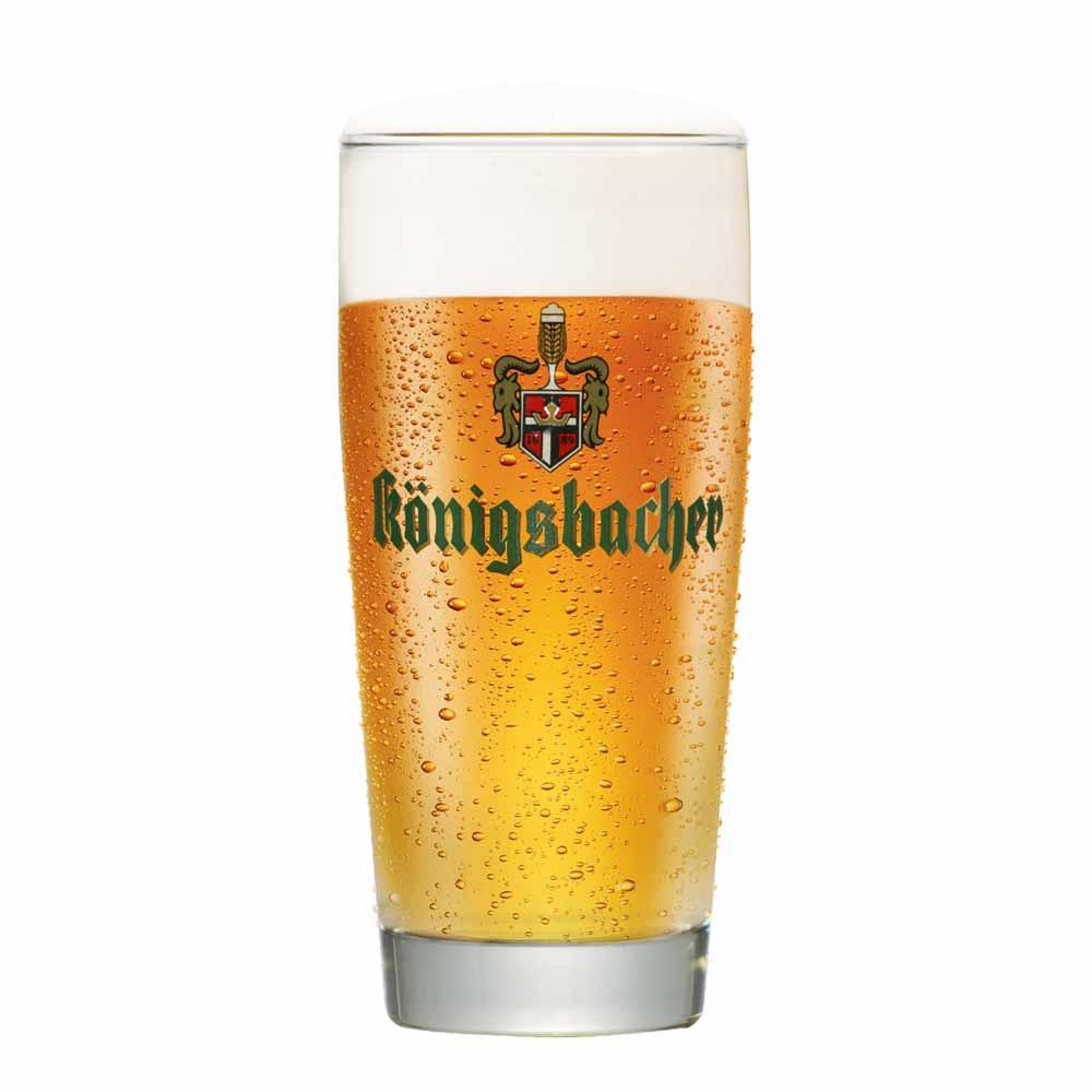 Jogo de Copos de Cerveja Konigsbacher 0,20 Dour Vidro 280ml