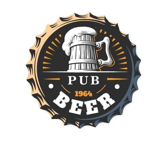 Jogo de Copos para Cerveja Frases Rótulo Pint 590ml 2 Pcs