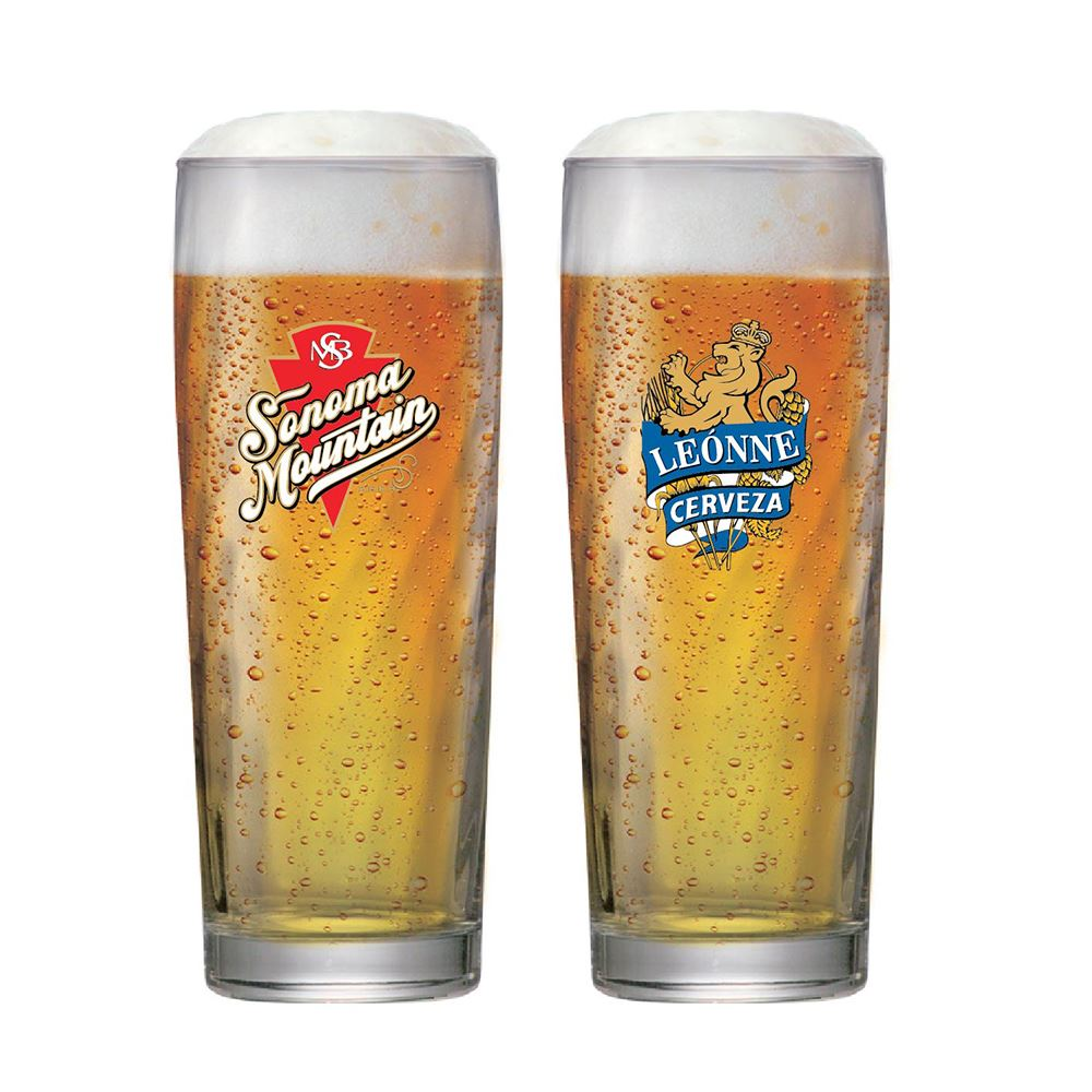 Jogo de Copos para Cerveja Rótulo Zurich M 320ml 2 Pcs