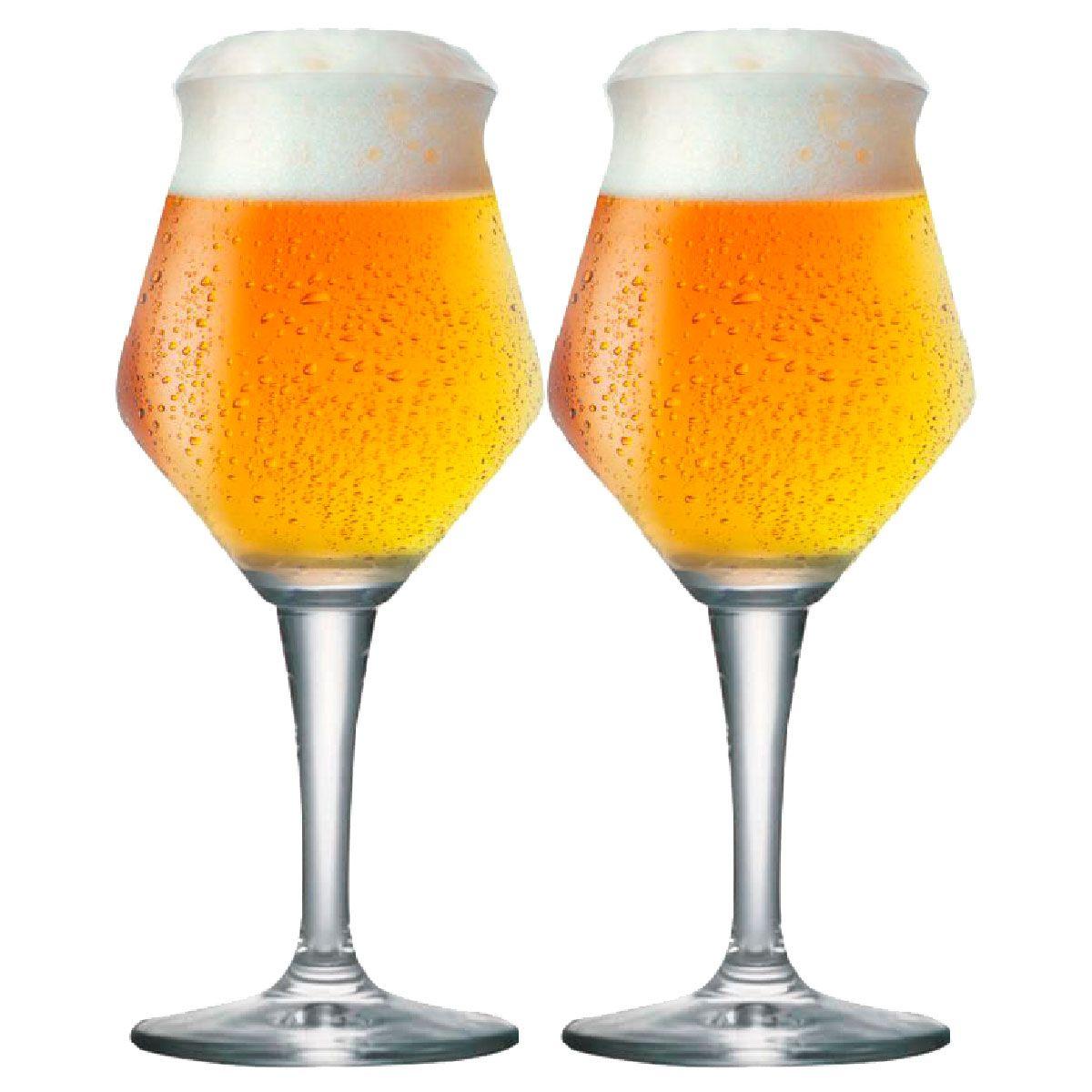 Jogo de Taça de Cerveja Crista Beer Sommelier Alta 430ml 2 Pcs
