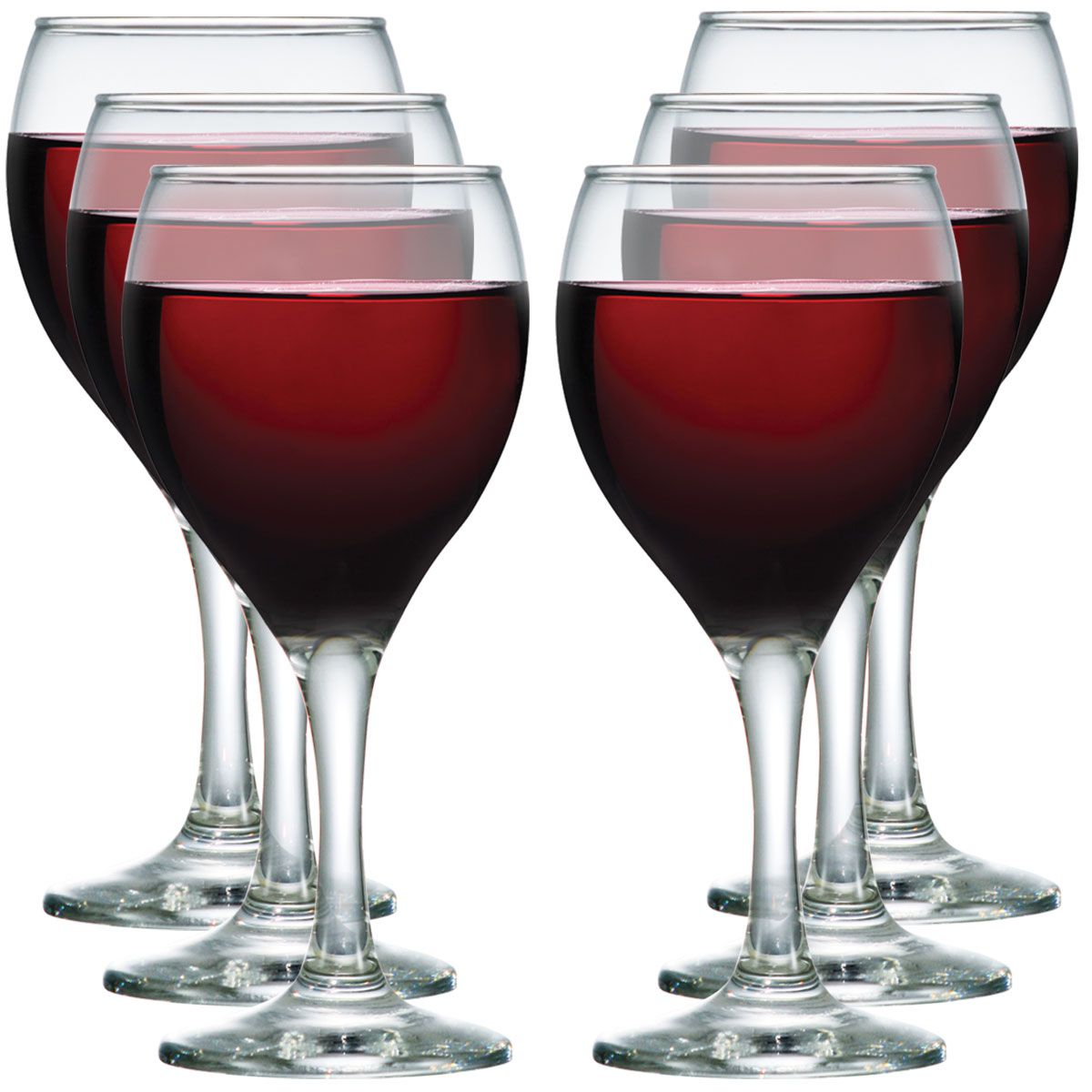 Jogo de Taça de Vinho Vidro Aspen 335ml 6 Pcs