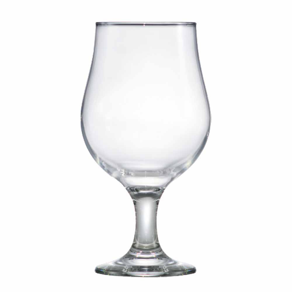 Taça de Cerveja de Vidro Belgica 380ml 12 Pcs