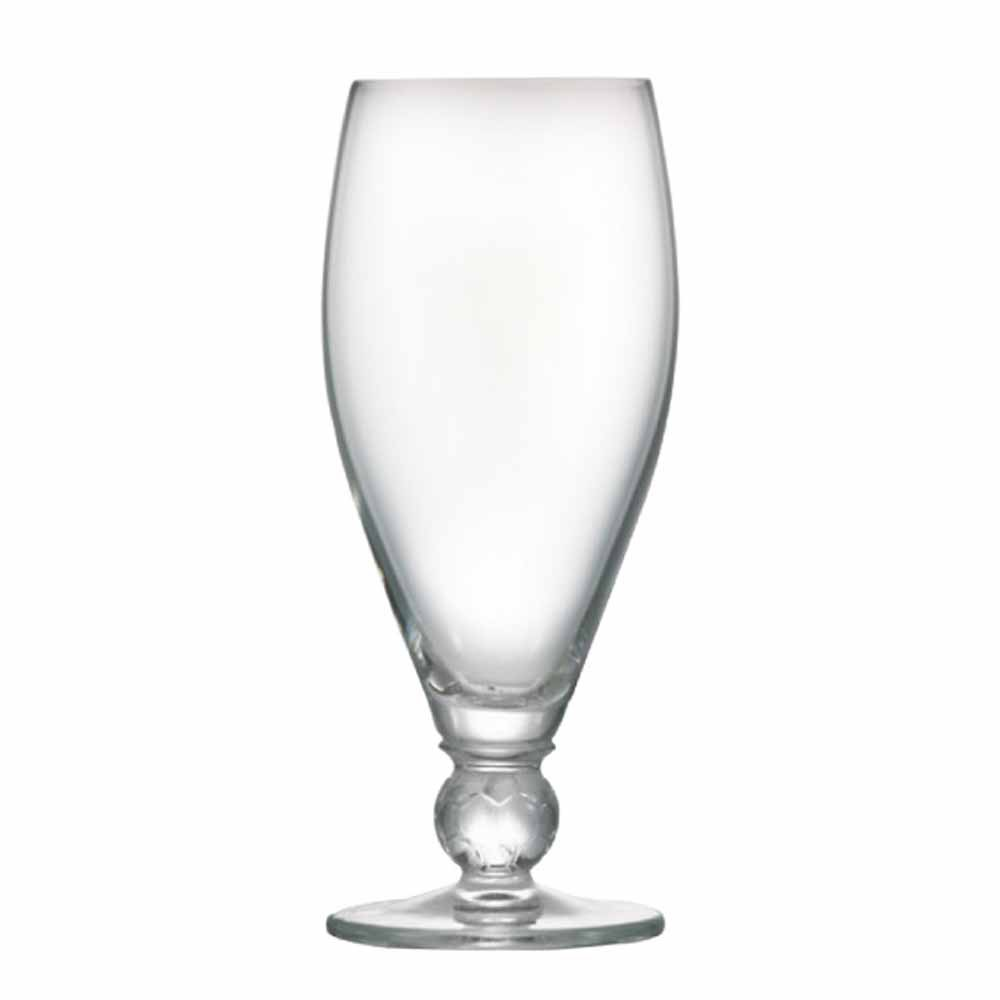 Taça de Cerveja de Cristal Futebol 395ml 6 Pcs