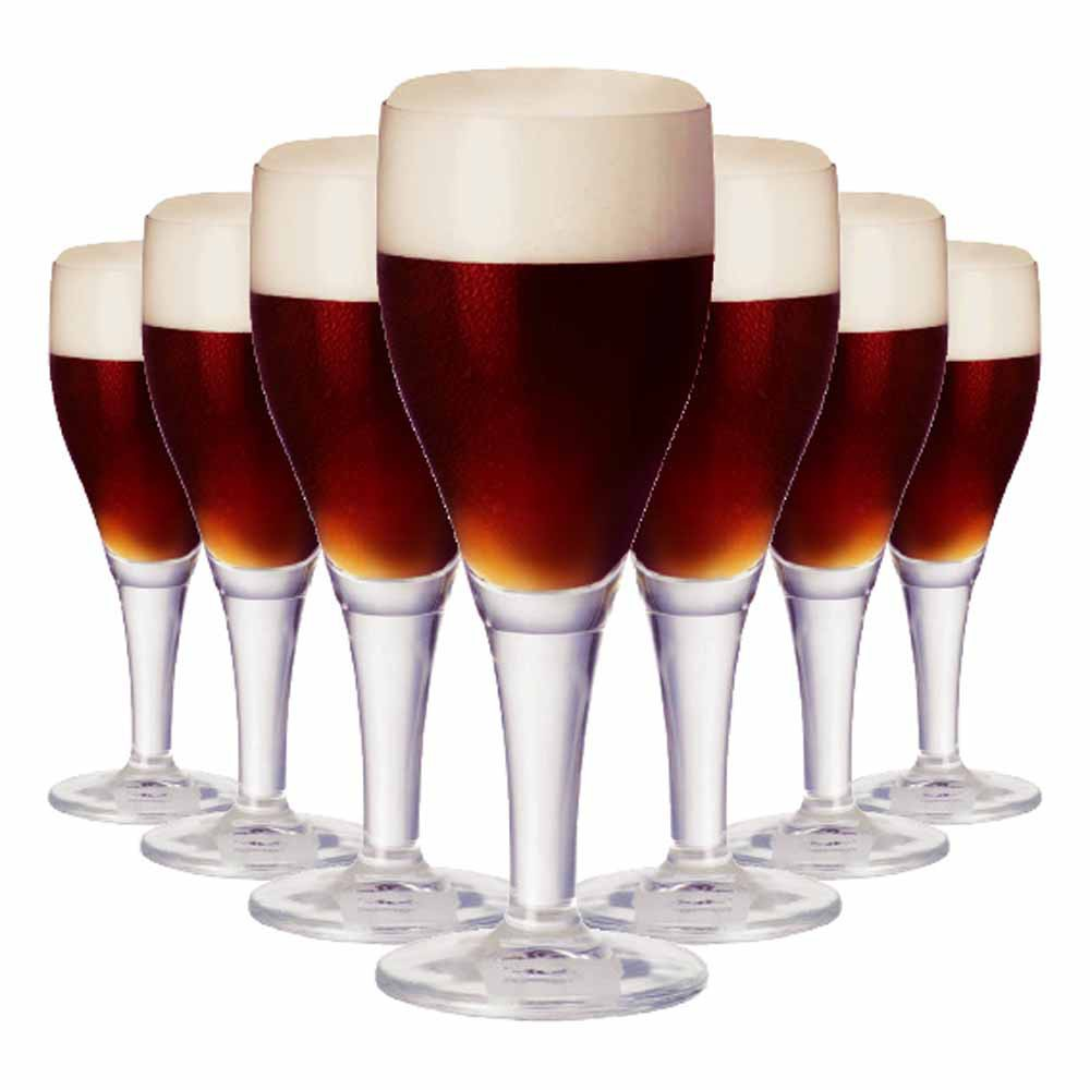 Taça de Cerveja de Cristal Harzer 430ml 6 Pcs