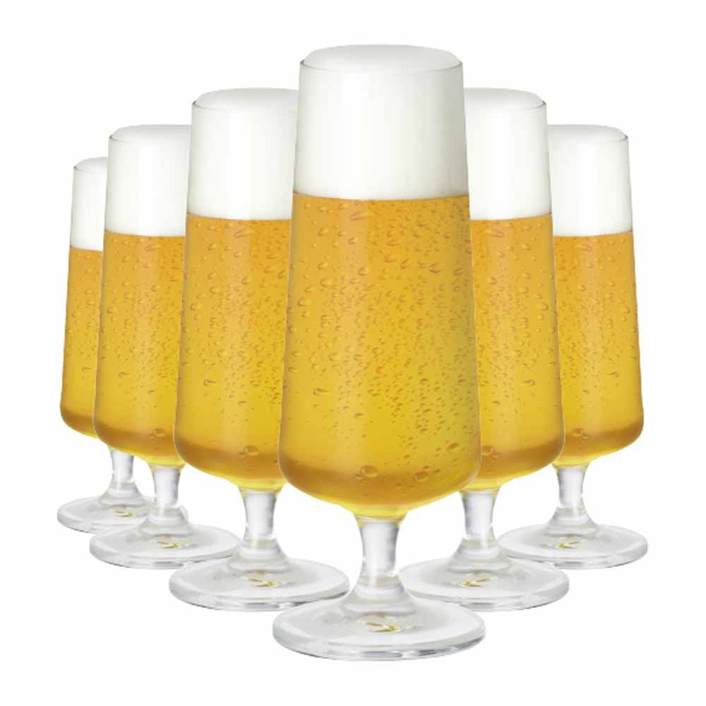 Taça de Cerveja de Cristal Minileed 185ml 6 Pcs