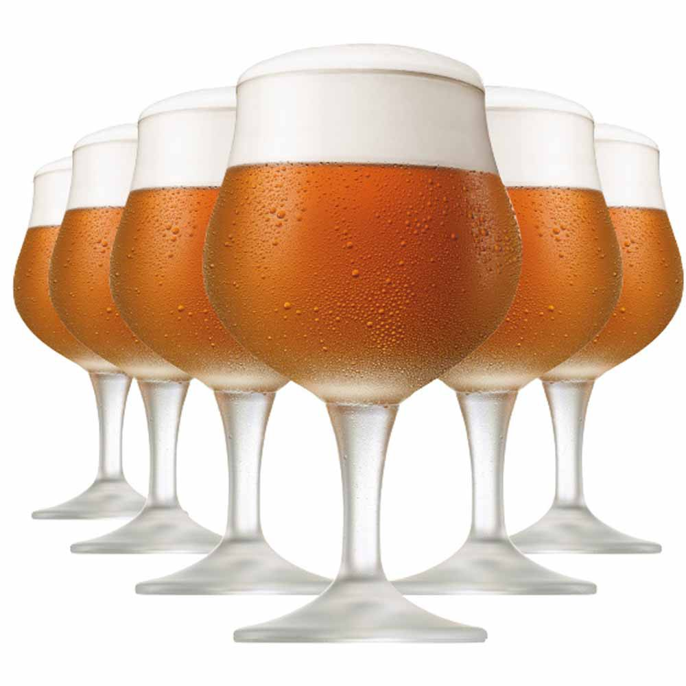 Jogo de Taças Cerveja Thanis Cristal 580ml 6 Pcs