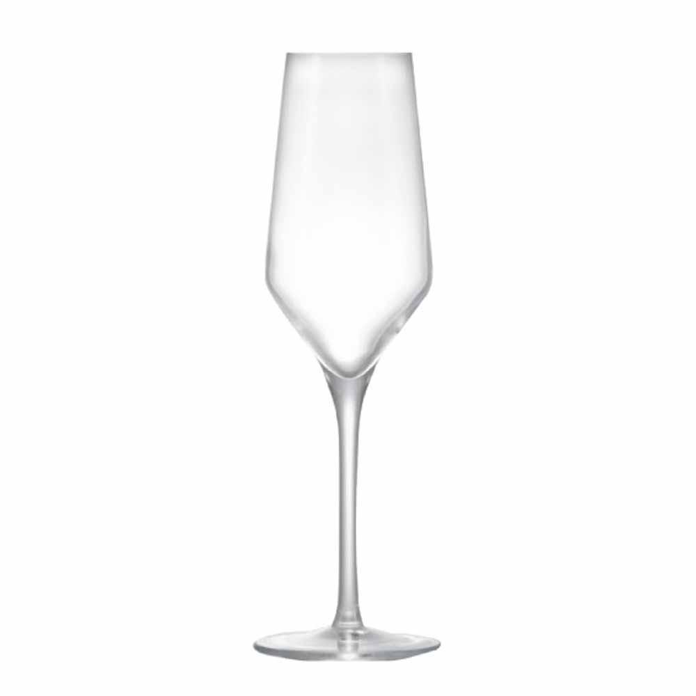Jogo de Taças Champagne Passion Cristal 240ml 2 Pcs
