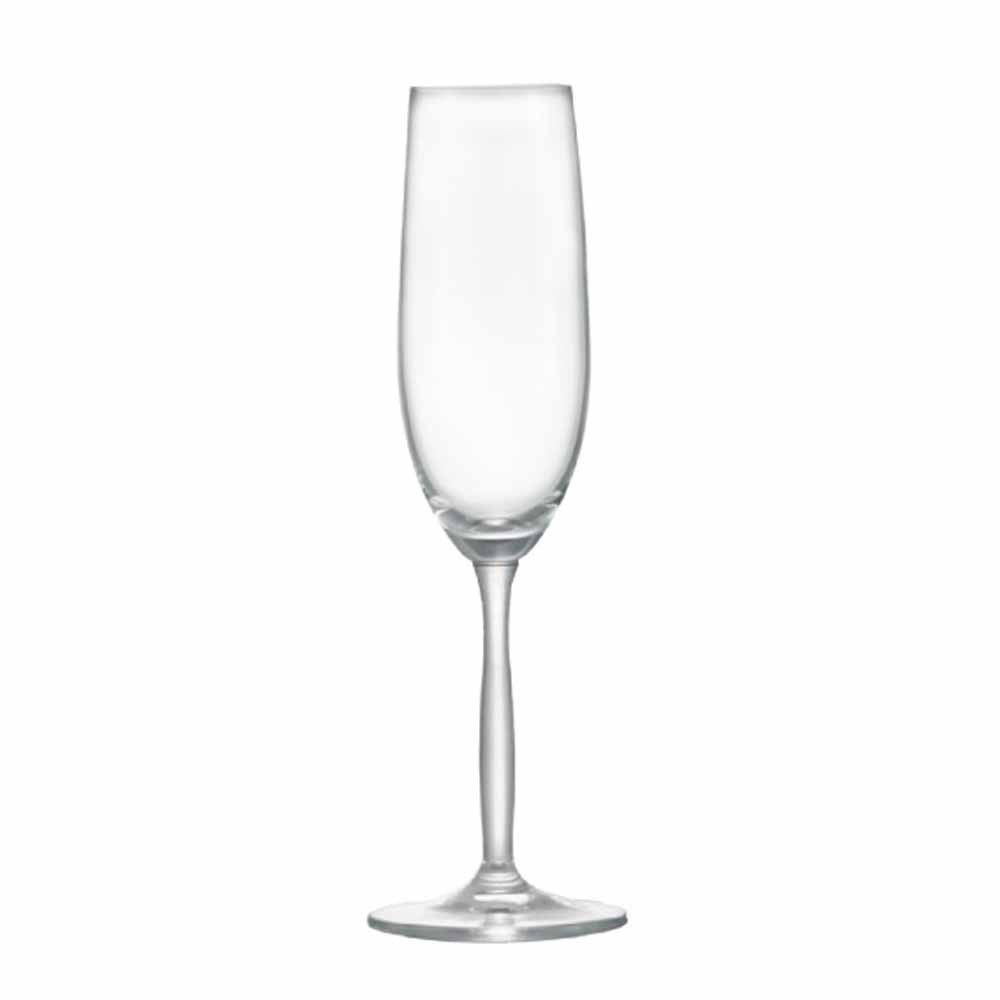 Jogo de Taças Champagne Ritz Cristal 195ml 2 Pcs