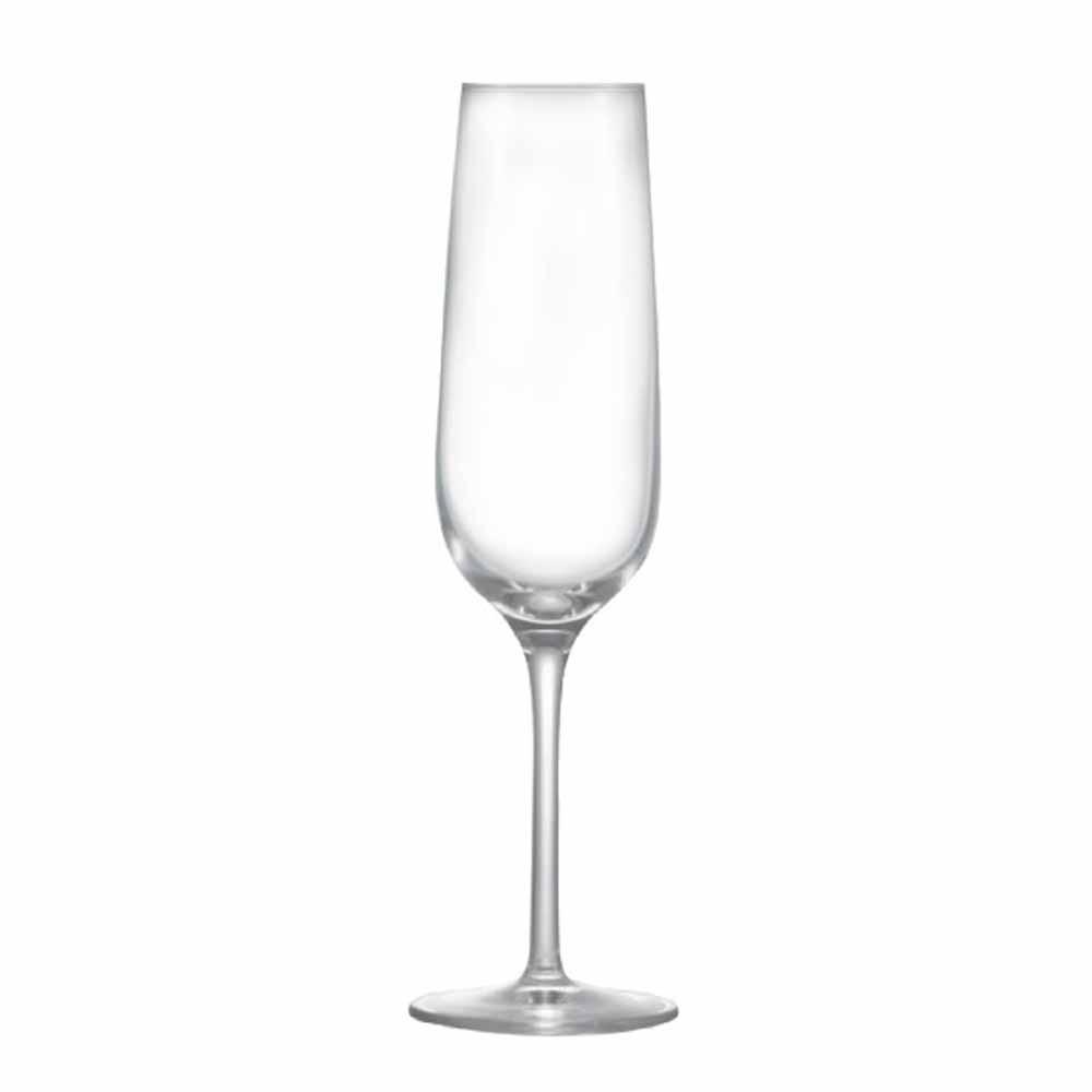 Jogo de Taças Champagne Sensation Cristal 200ml 2 Pcs
