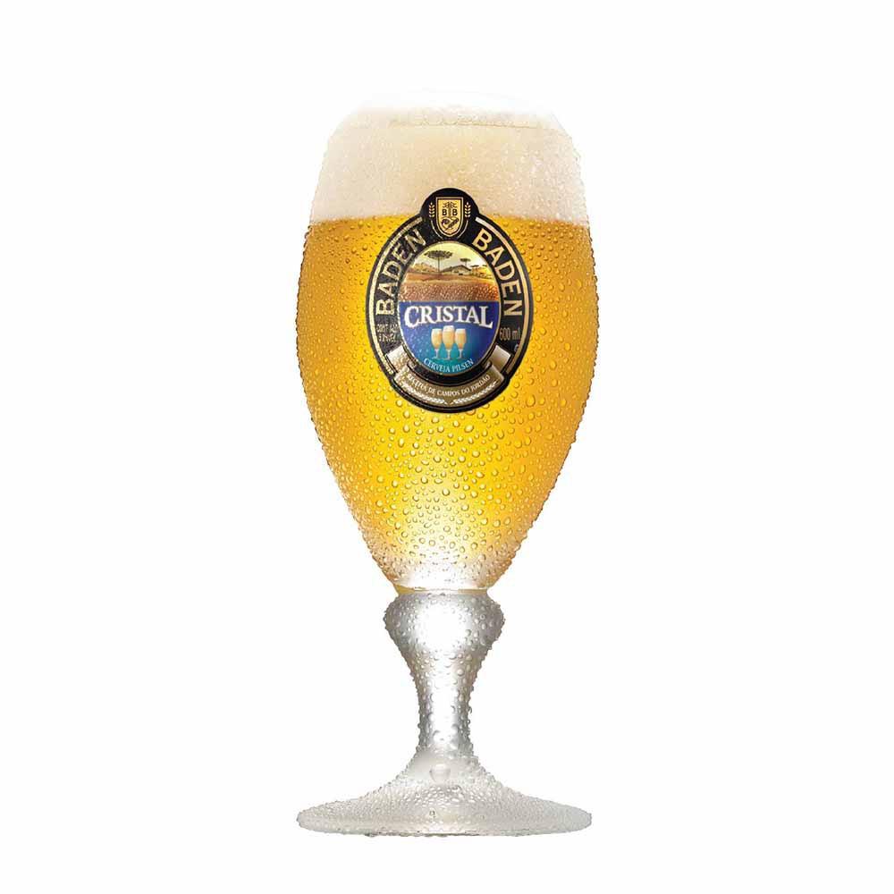 Jogo de Taças de Cerveja Baden Baden Cristal 385ml 12 Pcs