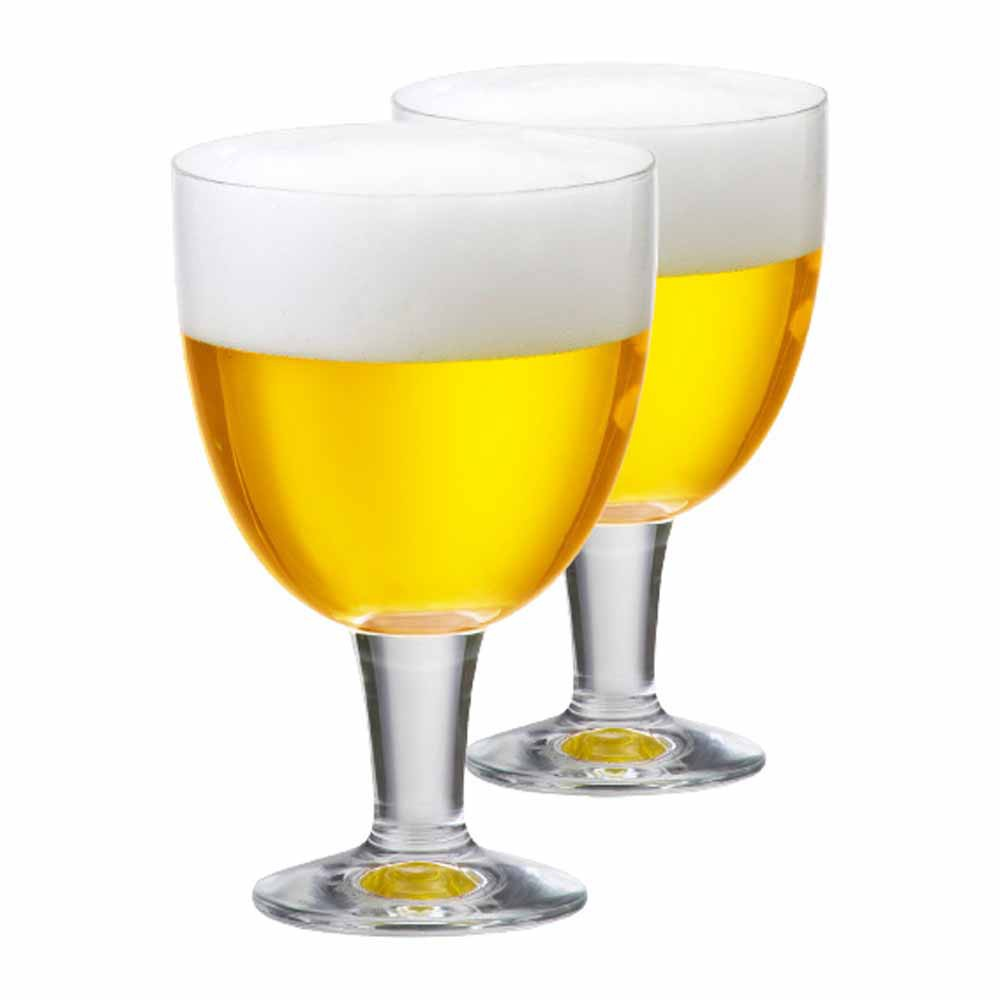 Taça de Cerveja de Cristal Budapest M 470ml 2 Pcs