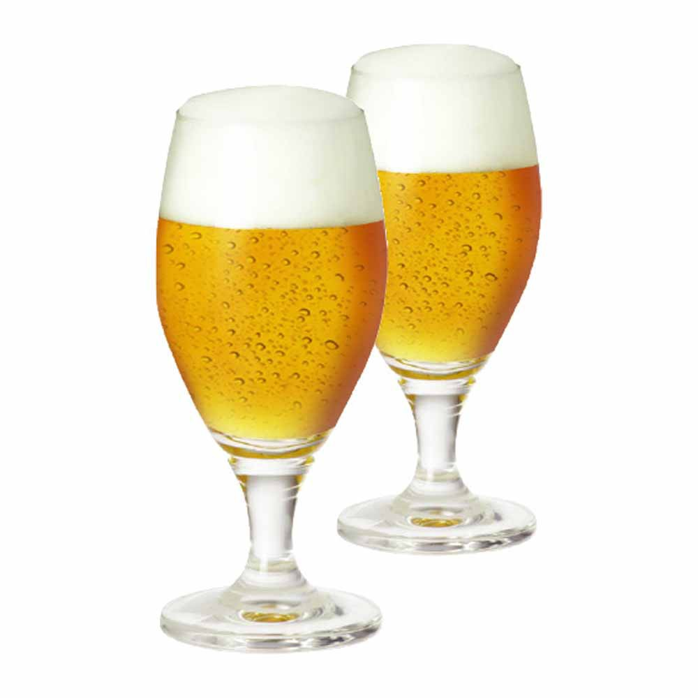 Taça de Cerveja de Cristal Deister M 395ml 2 Pcs