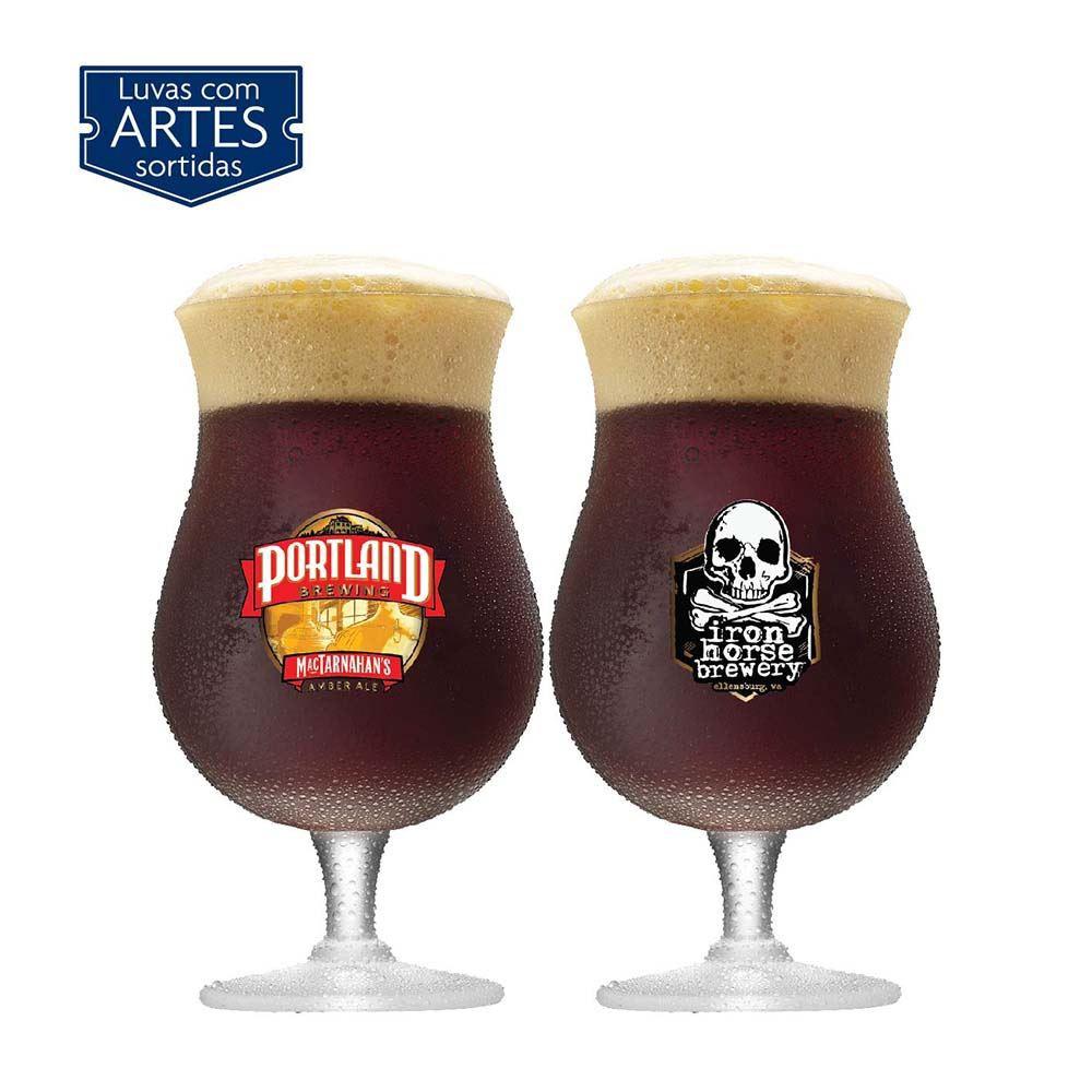 Jogo de Taças de Cerveja Double Bock Cristal 645ml 2 Pcs
