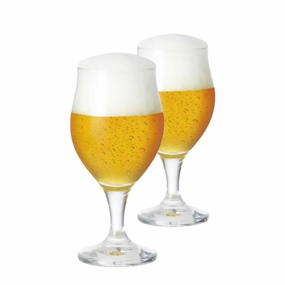 Taça de Cerveja de Cristal Elsab 340ml 2 Pcs