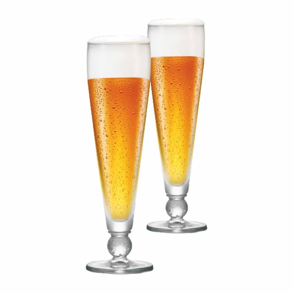 Taça de Cerveja de Cristal Futebol Ferrara 375ml 2 Pcs