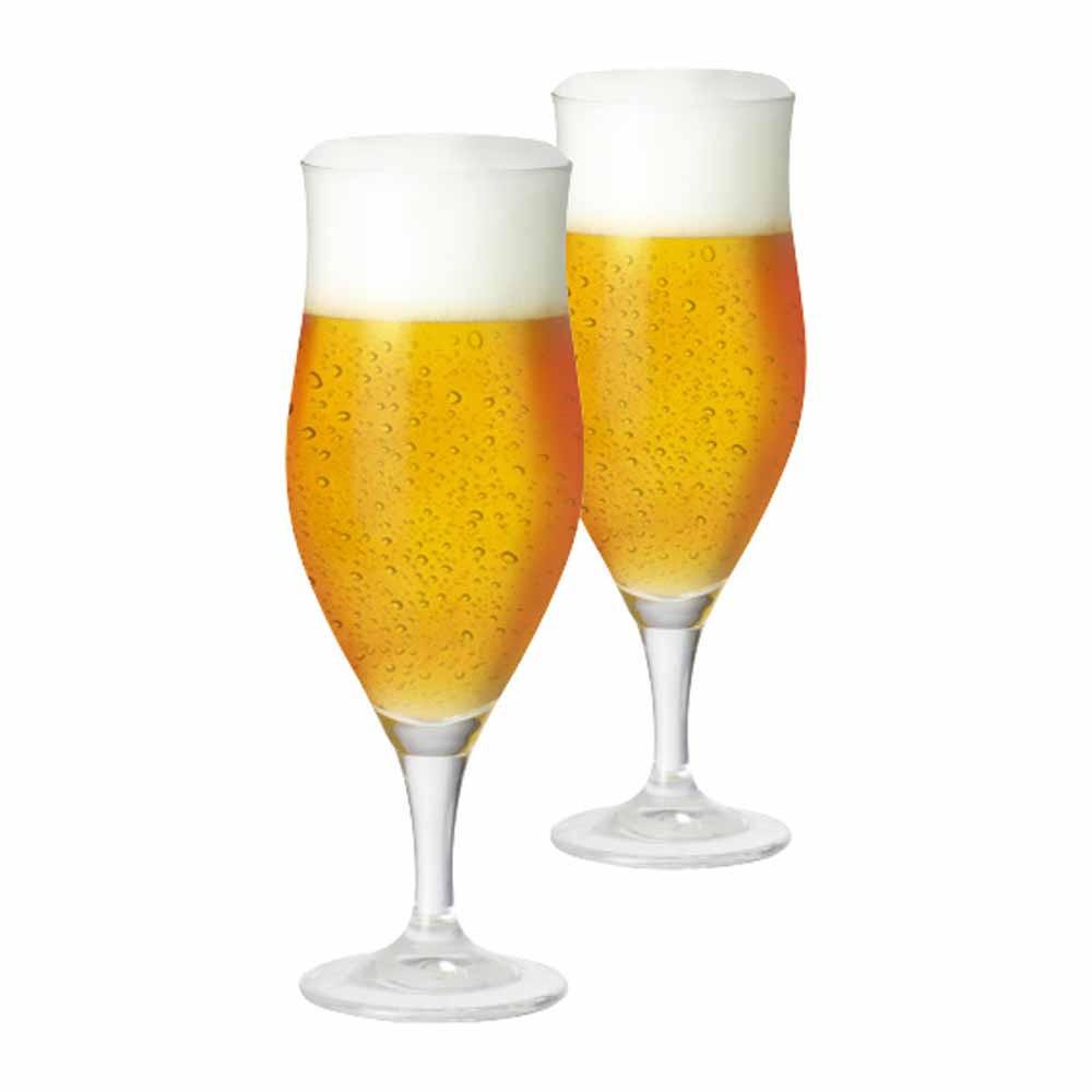 Taça de Cerveja de Cristal Lubzer G 390ml 2 Pcs