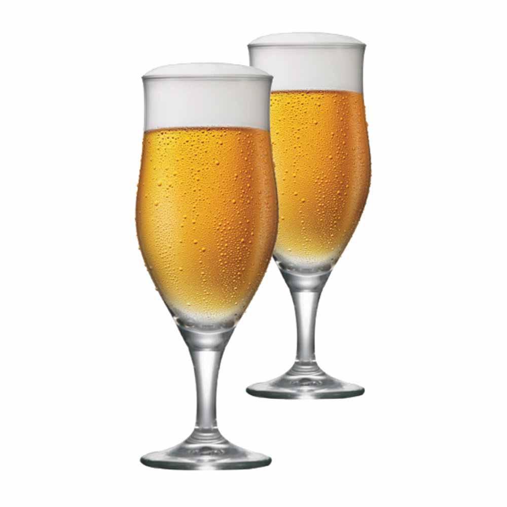 Taça de Cerveja de Cristal Lubzer P 260ml 2 Pcs