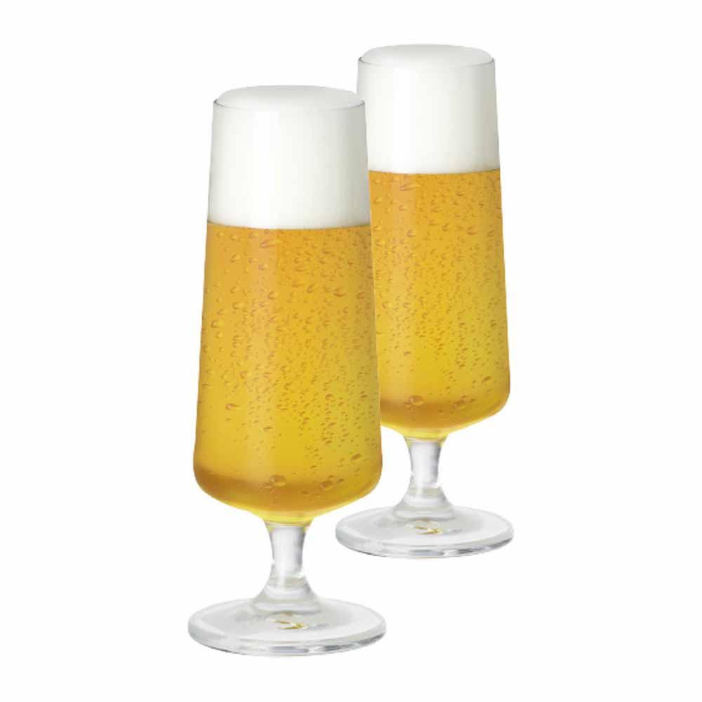 Jogo de Taças de Cerveja Minileed Cristal 185ml 2 Pcs