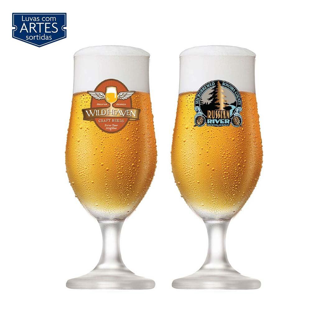 Jogo de Taças de Cerveja Nevada Cristal 330ml 2 Pcs