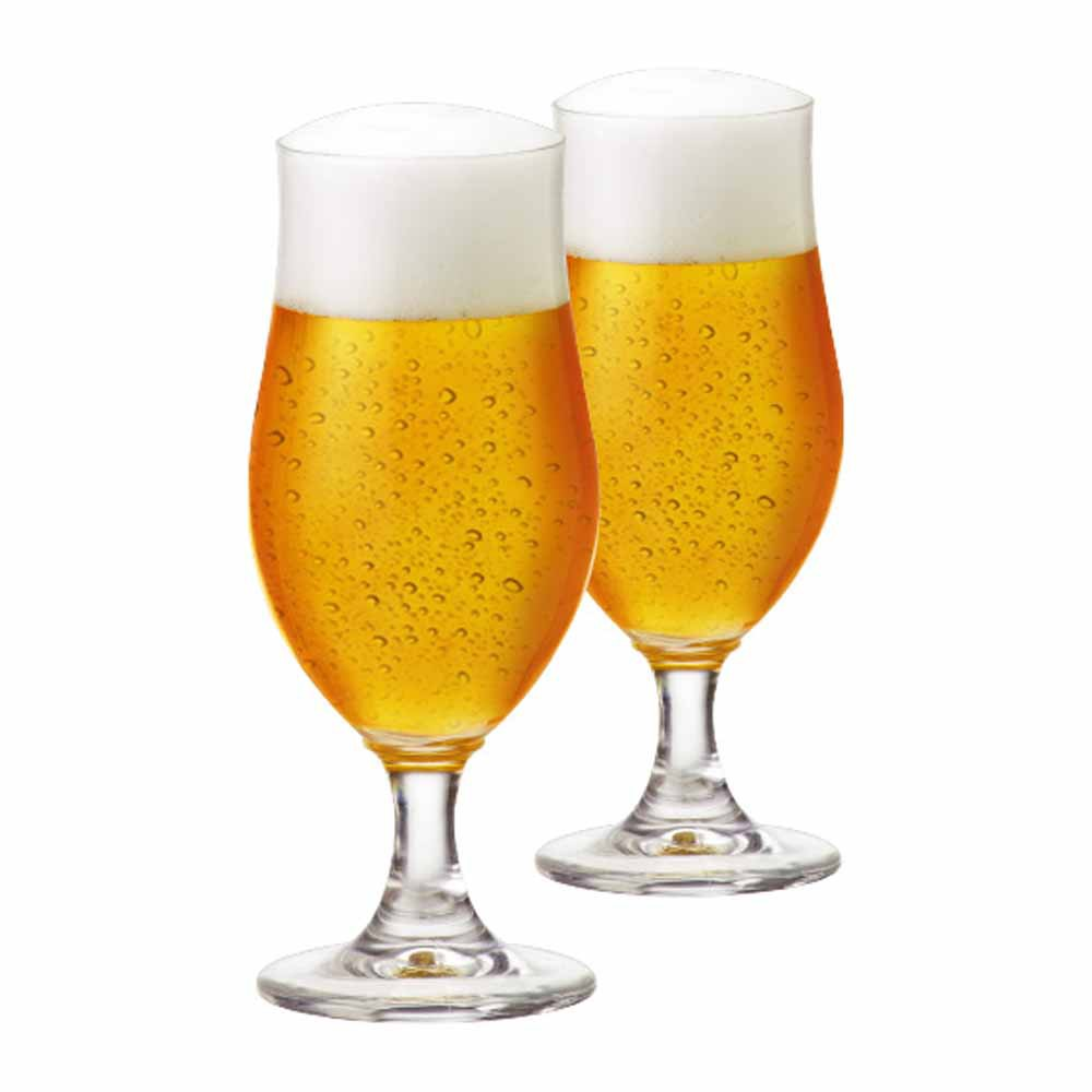 Taça de Cerveja de Cristal Nevada P 325ml 2 Pcs