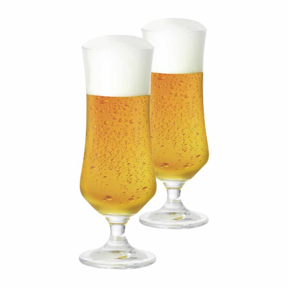 Taça de Cerveja de Cristal Ratsk 385ml 2 Pcs