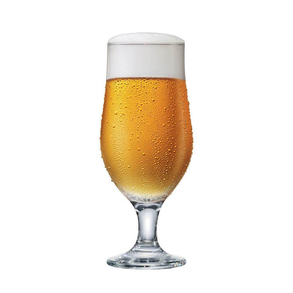 Taça de Cerveja de Vidro Royal Beer 330ml 6 Pcs