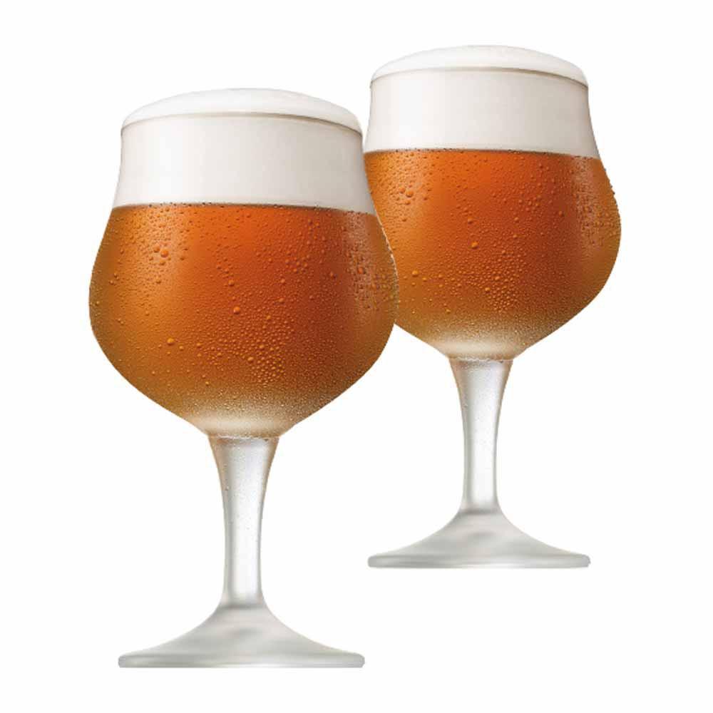 Jogo de Taças de Cerveja Thanis Cristal 580ml 2 Pcs