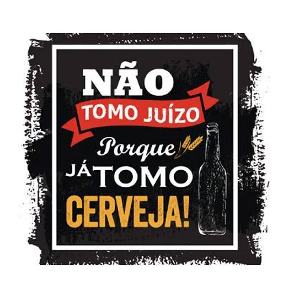 Jogo de Taças de Cerveja Vidro Beer Master Frases 380ml