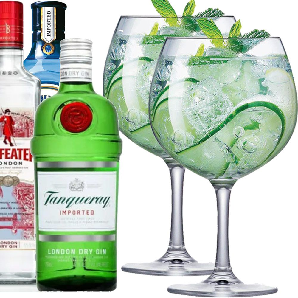 Jogo de Taças Gin Club Cristal 660ml 2 Pcs